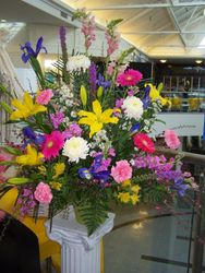 Colorful Arrangement for the Ceremony