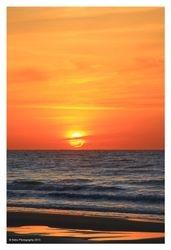 Orange Morning Sky