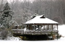 Brookside Gardens Teahouse Winter