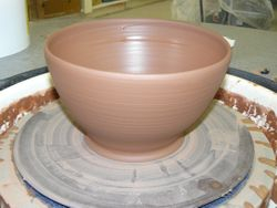 ~Working on a Bowl~