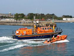 Wicklow RNLI launched to investigate floating object