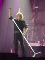 Rod dressed in black