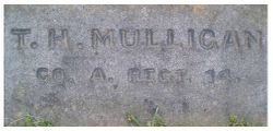 MULLIGAN, T. H. - Pvt., Co. A