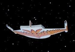 Romulan Warship  AMT 3