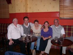 Jimmy Neary, Gary Gamble, Marita Neary, Sue & Cliff Parsons.