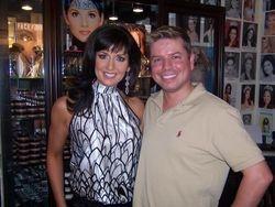 Me with photographer Clay Spann