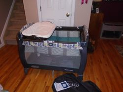 Graco Pack 'n Play Playard with Reversible Napper and Diaper Changer - $65