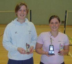 Handicap Tournament Ladies Singles Runner Up & Winner