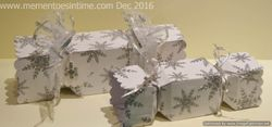 Wrapping Paper Cracker Boxes