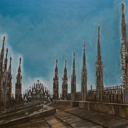 Milan's Cathedral Rooftop/Revelation
