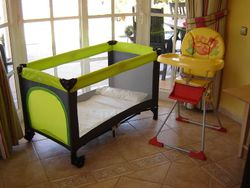 Baby Chair & Cot