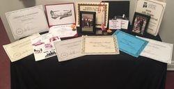 Tyreese Haynes Certificates