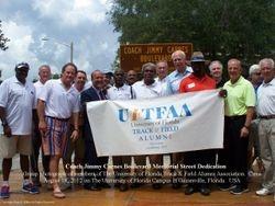 Coach Jimmy Carnes Boulevard Memorial Street Dedication
