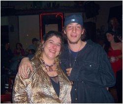 Moi et mon fils en 2006, My son and I in 2006