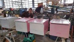Mise en peinture des nouvelles ruches