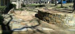 Flagstone Patio & retaining wall Arlington, TX