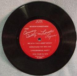 Season Greetings 1972 45 Recorded Side