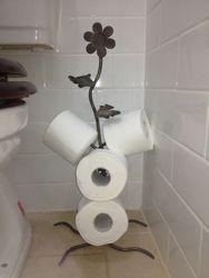 Toilet Roll Holder - Flower