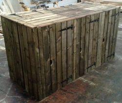 Wooden Wheelie Bin Store