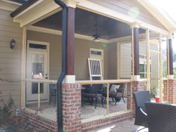 Raleigh, Cary, Apex, Holly Springs, NC Screened Porch and Window Screen repair and replacement