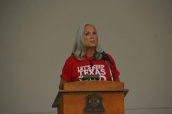 Janet - Our Bosque County Republican Chairman