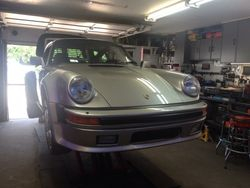Porsche 930 undergoing a pre-purchase inspection
