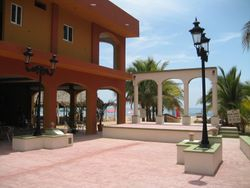 Chacala's new plaza