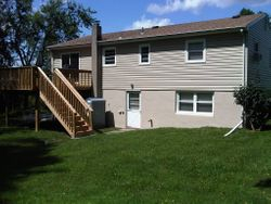 Vinyl Siding & Pressure Treated Deck 3