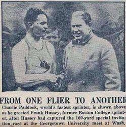 "Joseph ""Frank"" Hussey meets Charles"
