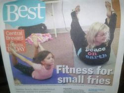 'Eden's Little Yogis' Makes Florida Today's BEST!