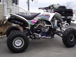 Cory Duffie's YFZ 450