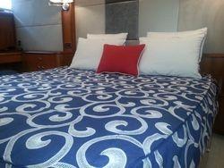 Master cabin custom bedding