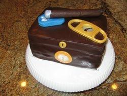 Humidor cake