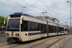 Bombardier Tram-Trains of the Wiener Lokalbahn
