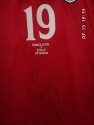 Joe Cole Worn England shirt