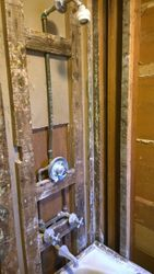 Fully Gutted Bathroom