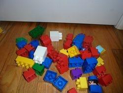 Megabloks Duplo- Bags of 45 Blocks - $9