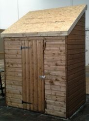 Pent Shed (6'x4') - High Slope