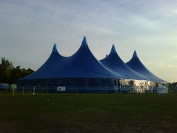 3x3 for paigaam-e-khushkhabri in valentines park, ilford