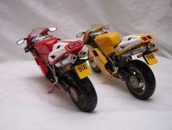 Ducati 916 and 748