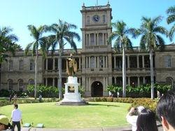 Royal Palace, Honalulu