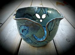 Opal Leaves Yarn Bowl ~