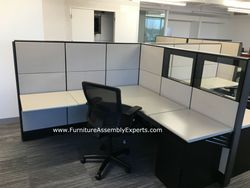 used office cubicle installation in vienna va
