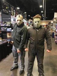 Jason and Michael Myers