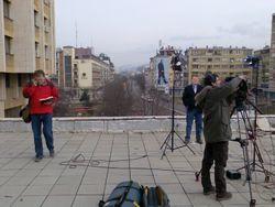 Reporting from Ksovo