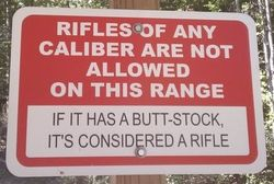 Pistol Range #1 RIFLES NOT ALLOWED