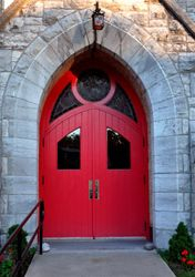 Church Door, Seneca Falls, NY