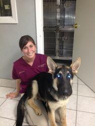 Allison and happy ER patient