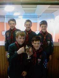 Scouts Football Winners 2008