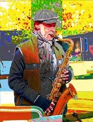 Saxophone Busker